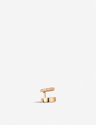 Repossi Berbere Module 18ct rose-gold and diamond pave ear cuff