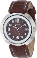 Jowissa Men's Pegasus Slim Dial Leather Date Watch