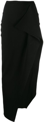 Rick Owens Side Slit Long Skirt