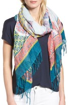 Women's Caslon Mixed Floral Print Scarf