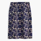 J.Crew Petite skirt in floral jacquard