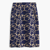 J.Crew Tall skirt in floral jacquard