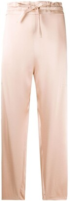 Maison Rabih Kayrouz Drawstring Waist Cropped Trousers