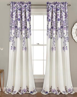 Triangle Home Fashion Tanisha Room Darkening Window Curtain Panels