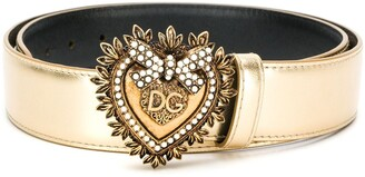 Dolce & Gabbana Devotion buckled belt