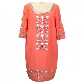 Matthew Williamson Orange Cotton Dress for Women