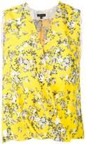 Rag & Bone wrap floral blouse