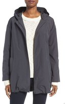 Eileen Fisher Women's Organic Cotton & Nylon Hooded Jacket