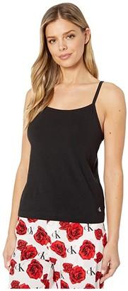 Calvin Klein Underwear One Cotton Basics Camisole (Black) Women's Pajama