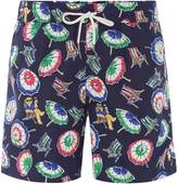 Men's Polo Ralph Lauren Beach Umbrella Print Swimshorts