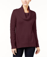 Style&Co. Style & Co Cowl-Neck Tunic Sweater, Created for Macy's