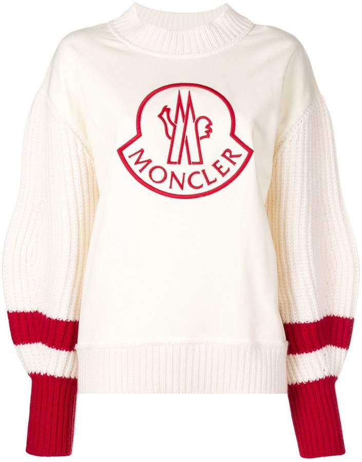 Moncler 1952 bishop sleeve sweatshirt