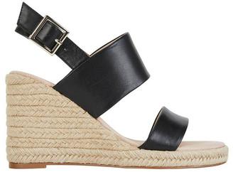 Jane Debster Dice Black Glove Sandal