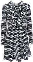 Saint Laurent Polka Dots Dress