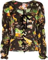 Shrimps Jericho printed blouse