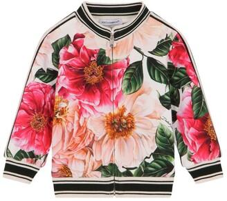 Dolce & Gabbana Kids Floral Bomber Jacket (3-30 Months)