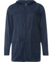 Dorothy Perkins Womens Navy Showerproof Pac-A-Mac- Blue