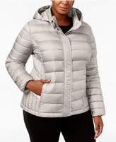 32 Degrees Plus Size Packable Puffer Coat