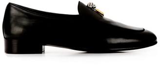 Giuseppe Zanotti Gold Hardware Loafers