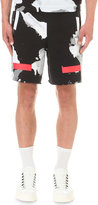 Off-white C/o Virgil Abloh Liquid Spots Cotton-jersey Shorts