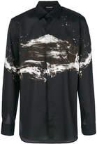 Neil Barrett abstract print shirt