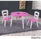 Kid Kraft 3-piece Round Table and Chair Set