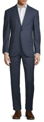 Corneliani Wool Houndstooth Suit