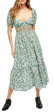 Free People Ellie Printed Maxi Dress