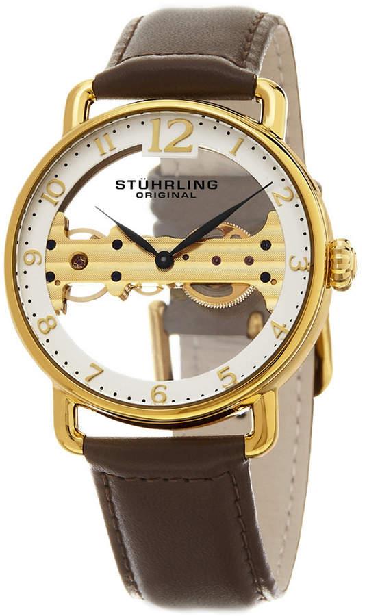 334c6d42d Mens Stuhrling Skeleton Watch - ShopStyle