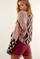 Free People Jackson Pullover by Free People, Rosewater Combo, XS