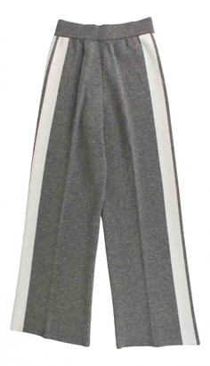 Christian Dior Grey Cashmere Trousers