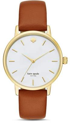 Kate Spade Metro Leather Strap Watch, 34mm