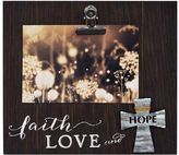 "New View Faith Love & Hope"" 5.5"" x 3.5"" Photo Clip Frame"