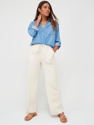 Very Soft Touch Denim Casual Shirt - Denim