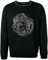 Versace sequin Medusa Head sweatshirt