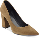Marc Fisher Daniela Pointy-Toe Block-Heel Pumps