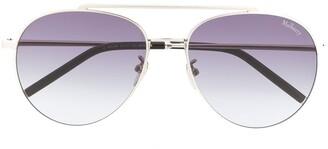 Mulberry Tony aviator sunglasses