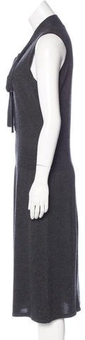 Magaschoni Cashmere Midi Dress