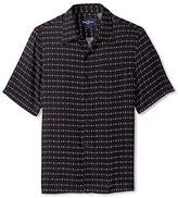 Nat Nast Men's Diamond Print Short Sleeve Shirt