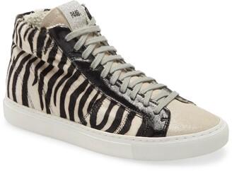 P448 Star Zebra High Top Sneaker