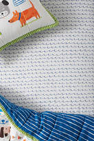 Anthropologie Make Waves Crib Sheet