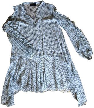 The Kooples Blue Silk Dresses