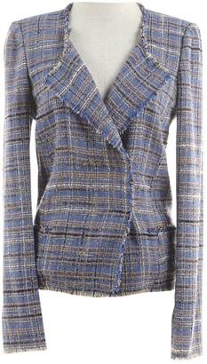 Etoile Isabel Marant Blue Tweed Jackets