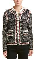 Moncler Gamme Rouge 2-in-1 Smallwood Silk-blend Down Jacket.