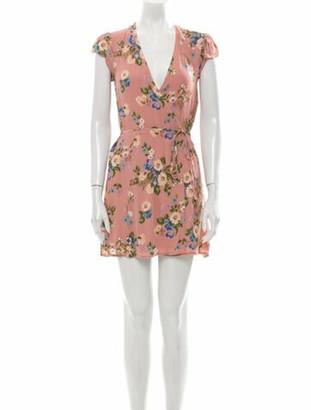 Reformation Floral Print Mini Dress w/ Tags