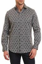 Robert Graham Men's Goran Regular Fit Print Sport Shirt