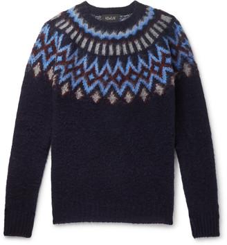 Howlin' Future Fantasy Fair Isle Brushed-Wool Sweater