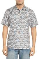 Tommy Bahama Wellington Geometric Print Sport Shirt