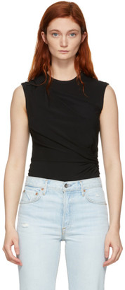 Alexander Wang Black Twisted Top