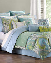 Echo Sardinia Reversible Bedding Collection, 300 Thread Count 100% Cotton